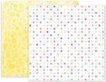 Summer Lights Paper 3 - Pink Paislee