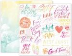Summer Lights Paper 10 - Pink Paislee