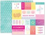 Summer Lights Paper 12 - Pink Paislee