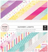 Summer Lights 6 x 6 Paper Pad - Pink Paislee