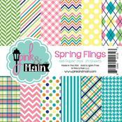 Spring Flings 6 x 6 Paper Pad - Pink & Main