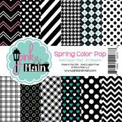 Spring Color Pop 6 x 6 Paper Pad - Pink & Main