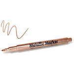 Copper - Metallic Permanent Marker 1.2mm Fine Point
