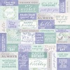 """Well Wishes Lilac Whisper Double-Sided Cardstock 12""""X12"""" - KaiserCraft"""