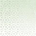 "Aqua W/Silver Foil  Lilac Whisper Die-Cut Cardstock 12""X12"" Paper - KaiserCraft"