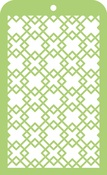 "Diamonds Mini Designer Templates 3.5""X5.75"" - KaiserCraft"