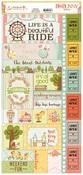 Weekend Adventures Sticker Sheet - Bo Bunny