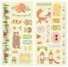 Weekend Adventures Chipboard - Bo Bunny