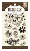 Pocket Full Of Posies Clear Stamps - Bo Bunny
