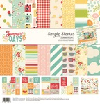 Summer Days Collection Kits - Simple Stories