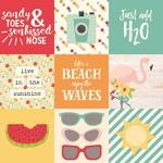Elements 4 x 4 Paper - Summer Days - Simple Storeis