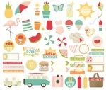 Summer Days Bits & Pieces - Simple Stories