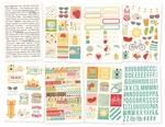 Summer Days Sticker Sheets - Simple Stories