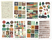 Cabin Fever Sticker Sheets - Simple Stories