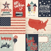 Journaling Paper - All American - Simple Stories
