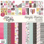 Love & Adore 12 x 12 Paper Pad - Simple Stories