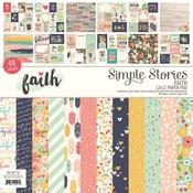 Faith 12 x 12 Paper Pad - Simple Stories