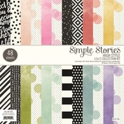 High Style 12 x 12 Paper Pad - Simple Stories