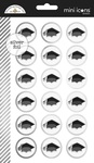 Hats Off Mini Icon Sticker Sheet - Doodlebug