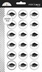 Hats Off Mini Icon Sticker Sheet - Doodlebug