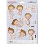 Angelic - Ultimate Crafts Gapchinska A4 Decoupage Sheet