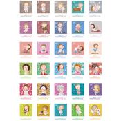 Ultimate Crafts Gapchinska A4 Stamp Stickers