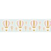 Gold Hot Air Balloon - Little B Decorative Foil Tape 25mmX10m