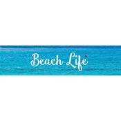 Silver Beach Life - Little B Decorative Foil Tape 25mmX10m
