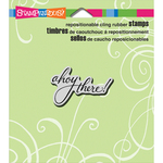"""Ahoy - Stampendous Cling Stamp 4.75""""X4.5"""""""