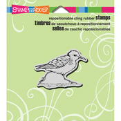 """Small Sandpiper - Stampendous Cling Stamp 4.75""""X4.5"""""""