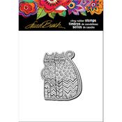"Zigzag Cats - Stampendous Laurel Burch Cling Stamp 4.75""X4.5"""