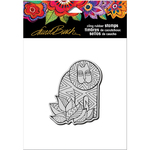 "Lion - Stampendous Laurel Burch Cling Stamp 4.75""X4.5"""