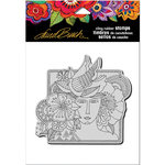 "Woman Spirit - Stampendous Laurel Burch Cling Stamp 6.5""x4.5"""