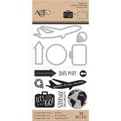 Travel - Art-C Stamp & Die Set