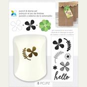 Floral Hello - Momenta Punch & Stamp Set