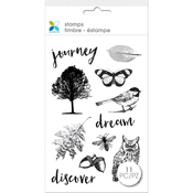 """Nature - Momenta Clear Stamps 4""""X7.5"""""""