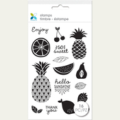 """So Sweet - Momenta Clear Stamps 4""""X7.5"""""""