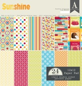 Sunshine 12 x 12 Paper Pad - Authentique