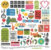 Band Geek Element Stickers - Photoplay
