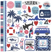 Shark Attack Element Stickers - Photoplay