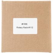 Holds 120 Spools - Large Rotary Thread Rack