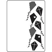"""Kites - Embossing Folder 4.25""""X5.75"""""""