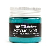 Mermaid Teal Metallique - Art Alchemy - Prima