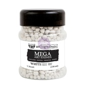 White Mega Art Stones - Art Ingredients - Prima