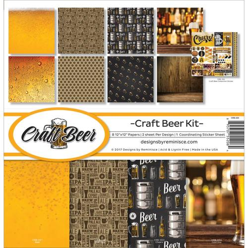 New craft supplies craft beer collection kit reminisce for Best craft beer kit