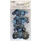 Ocean Breeze Floral Mixology Paper Flowers - 49 and Market