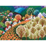 "15.75""X12"" 10 Count - Valley Of Fairytale Counted Cross Stitch Kit"