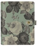 Mint Vintage Floral Personal Planner - Carpe Diem - Simple Stories