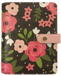 Black Blossom Personal Planner - Carpe Diem - Simple Stories
