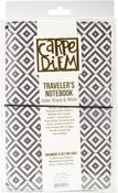 Aztec Black & White Travelers Notebook - Carpe Diem - Simple Stories